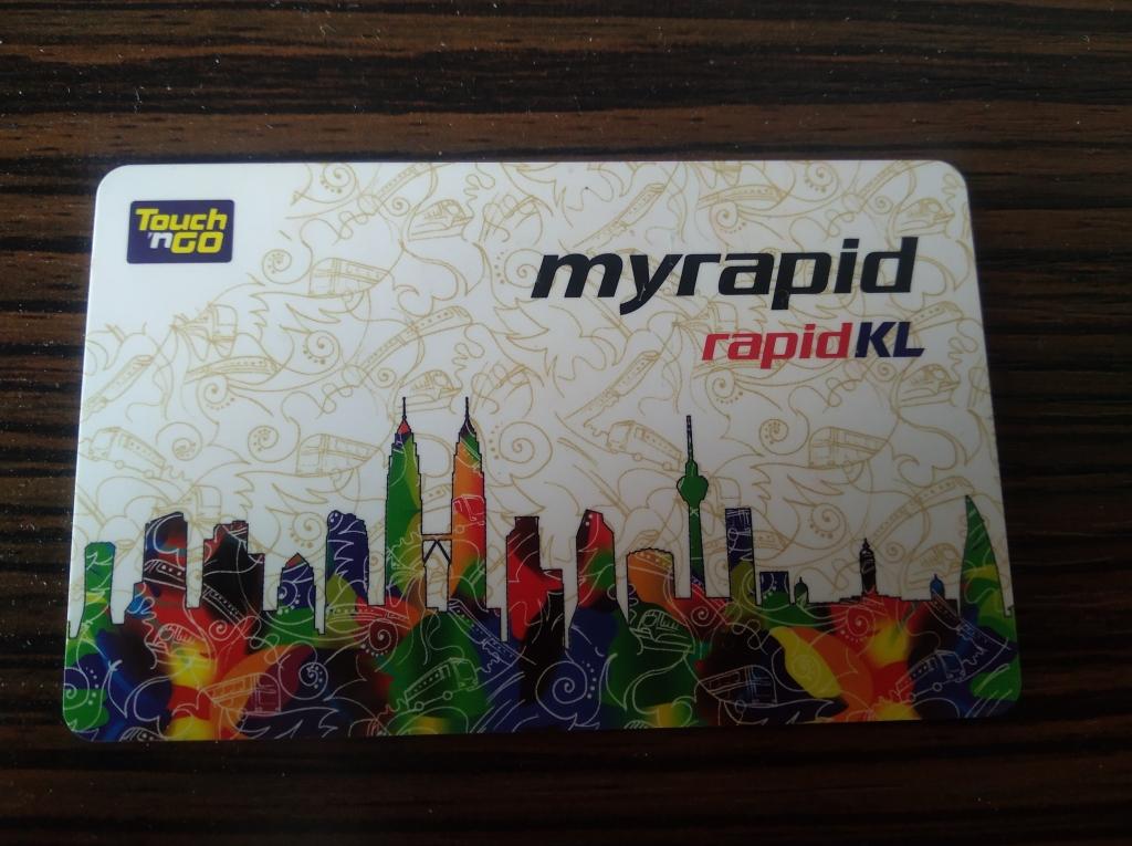 Kuala Lumpur TouchnGo card